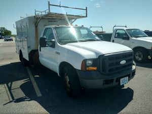 2007 Ford F-350 1 ton with box utility for Sale in Wentzville, MO