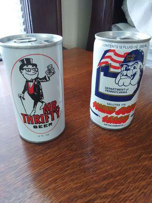 Vintage cans for Sale in Belleville, NJ