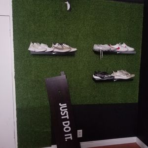 Artificial grass+ Nike sign+ Nike shelve for Sale in Los Angeles, CA