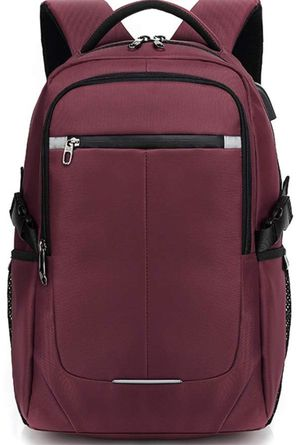 Travel Laptop Backpack, Business Laptops Backpack with USB Charging Port & Headphone Interface, Water Resistant College School Computer Bag for Women for Sale in Piscataway Township, NJ