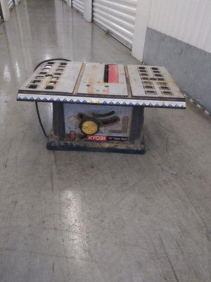 Ryobi 10-inch table saw for Sale in Cutler Bay, FL