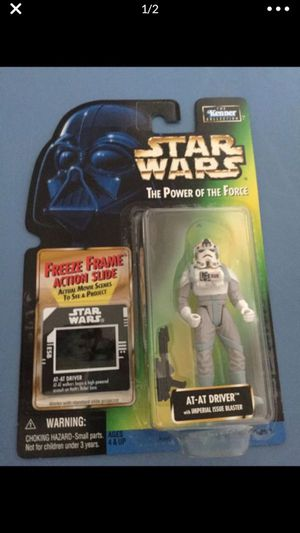 Star Wars The Power of the Force AT AT Driver for Sale in Cibolo, TX