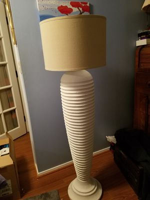 Tall 59 inch ceramic lamp w/ shade for Sale in Fairfax, VA