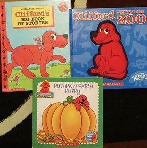 Clifford books $5 for all for Sale in Mansfield, TX