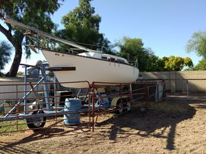 1974 Hunter Marine sailboat with trailer for Sale in Chandler, AZ