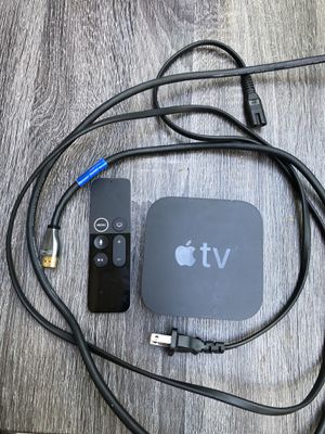 Apple TV 4 th Generation Without Box for Sale in Fremont, CA