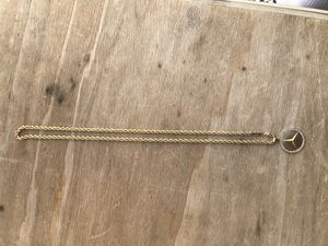 Real Gold Rope Chain for Sale in San Bernardino, CA