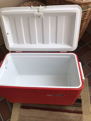 Cooler! 25x14x14.5 approx just in time got party time drinks! for Sale in Rapid City, SD