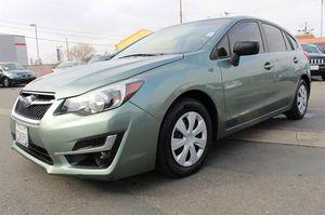 2016 Subaru Impreza 2.0i for Sale in Sacramento, CA