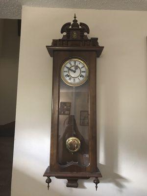 Antique Pendulum Wall Clock for Sale in Columbus, OH