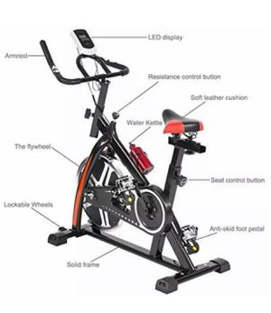Exercise Bike Health Fitness Indoor Cycling Bicycle Cardio Workout Home Indoor for Sale in Austin, TX