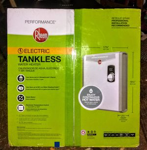 Rheem RETEX-27 Tankless water heater for Sale in Gig Harbor, WA