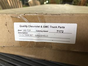 Chevy / GMC C10 71-72 windshield trim and 67-72 AC gasket set for Sale in Portland, OR