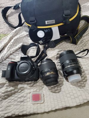 NIKON D5300 w 2 Lenses for Sale in Fresno, CA