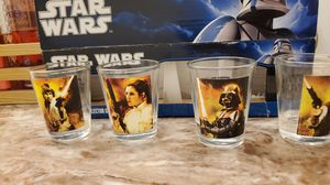 Star wars shot glass collection for Sale in Austin, TX