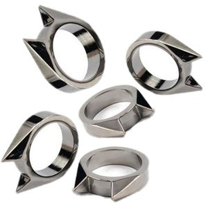 5x Cat Wolf Ear Ring Self Defense Rescue Spike Tactical Survival EDC Tool shipping only for Sale in Whittier, CA