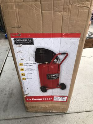 New General air compressor 20 gallon never used for Sale in West Valley City, UT