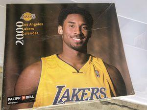 2000 Lakers Calendar for Sale in Pomona, CA