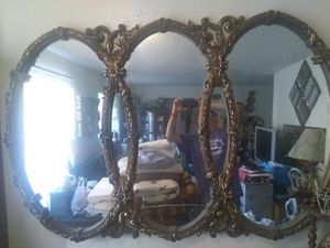 Antique mirror with serial number for Sale in San Antonio, TX