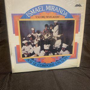 Ismael Miranda ASI Se Compone Un Son Lp Fania Records for Sale in Moreno Valley, CA