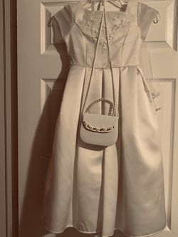 First Communion Or Flower Girl Dress With Purse for Sale in Miramar,  FL