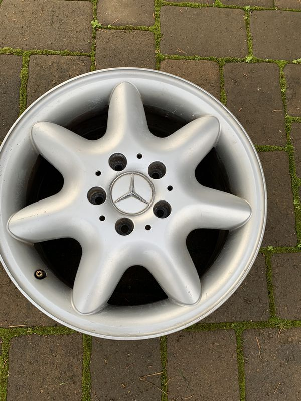 "Mercedes Benz 16"" OEM Wheels"