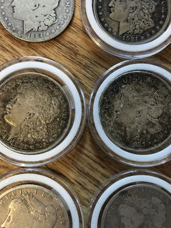 Morgan Silver Dollars Various Years for Sale in Mannington,  WV