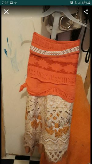 Costume for Halloween Moana for Sale in Fort Worth, TX