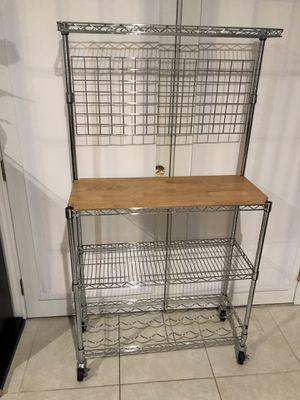 Kitchen bakers rack for Sale in Wesley Chapel, FL