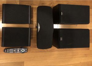 Front- celestion, Center - Klipsch, Rear- Polk Audio speakers. for Sale in Queens, NY