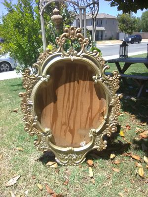 Large picture frame can be use for decor prop $145 obo for Sale in Perris, CA