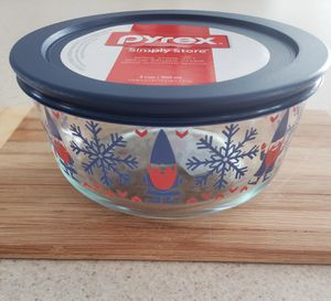 Gnome Pyrex - 4 Cup Storage for Sale in New Bedford, MA