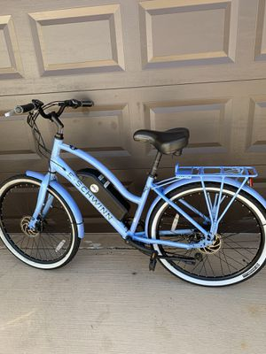 Schwinn 26 inch Electric bike seven speed Front and back disc brakes for Sale in Plantation, FL