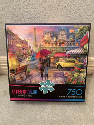 """Buffalo games """"Raining in Paris"""" puzzle for Sale in Richardson, TX"""