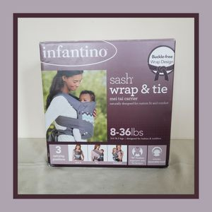 Infantino Sash Wrap and Tie Baby Carrier for Sale in East Chicago, IN