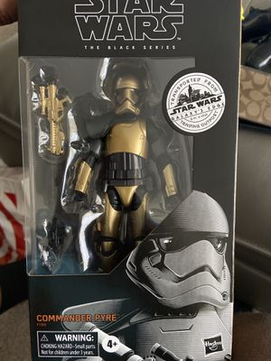 Star Wars Black Series Commander Pyre Galaxy's Edge Target Exclusive in hand for Sale in North Las Vegas, NV
