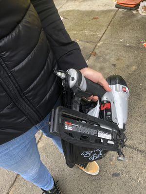 Air compressor nail gun for Sale in Philadelphia, PA