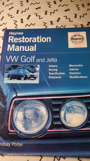 Resto Manual for Sale in Anchorage, AK