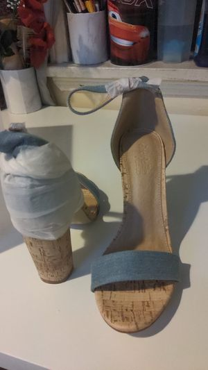 Jean charlotte russe heels size 8 for Sale in Los Angeles, CA