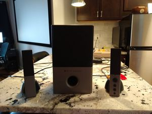 Altec Lansing 2.1 speakers (Model VS4121) for Sale in Washington, DC
