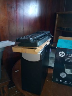 Computer tower and 3 keyboard for Sale in Haines City, FL