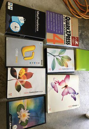 Adobe creative suite, quark Xpress, MAC Freelance for Sale in Greenacres, FL