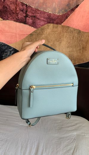 Kate Spade Light Blue Mini Backpack for Sale in Downey, CA