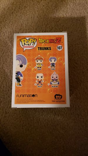 Dragon ball z Trunks#107 for Sale in Bremerton, WA