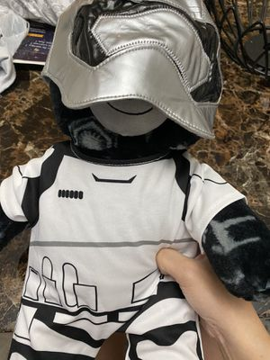 Star war teddy bear from Build a bear for Sale in Sterling, VA
