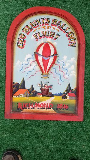 3 D Collectable Art (Hot Air Balloon ) for Sale in Atlanta, GA