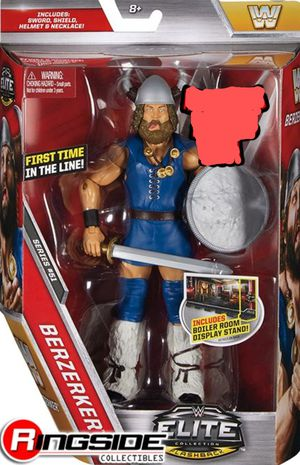 "New WWE/ WWF Elite Collection ""BERZERKER"" Action Figure. for Sale in Apopka, FL"
