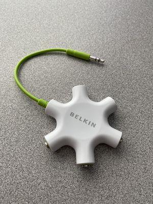 Belkin rockstar 5 way headphone splitter perfect! for Sale in Centennial, CO