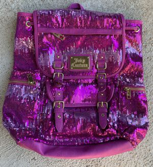 Juicy Couture pink sequin backpack for Sale in Aurora, CO