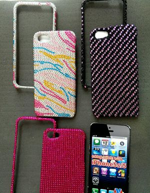 Bling..Bling IPhone 5/5S Protector Two piece case for Sale in Tempe, AZ